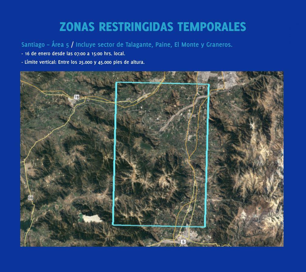 Santiago zona prohibida