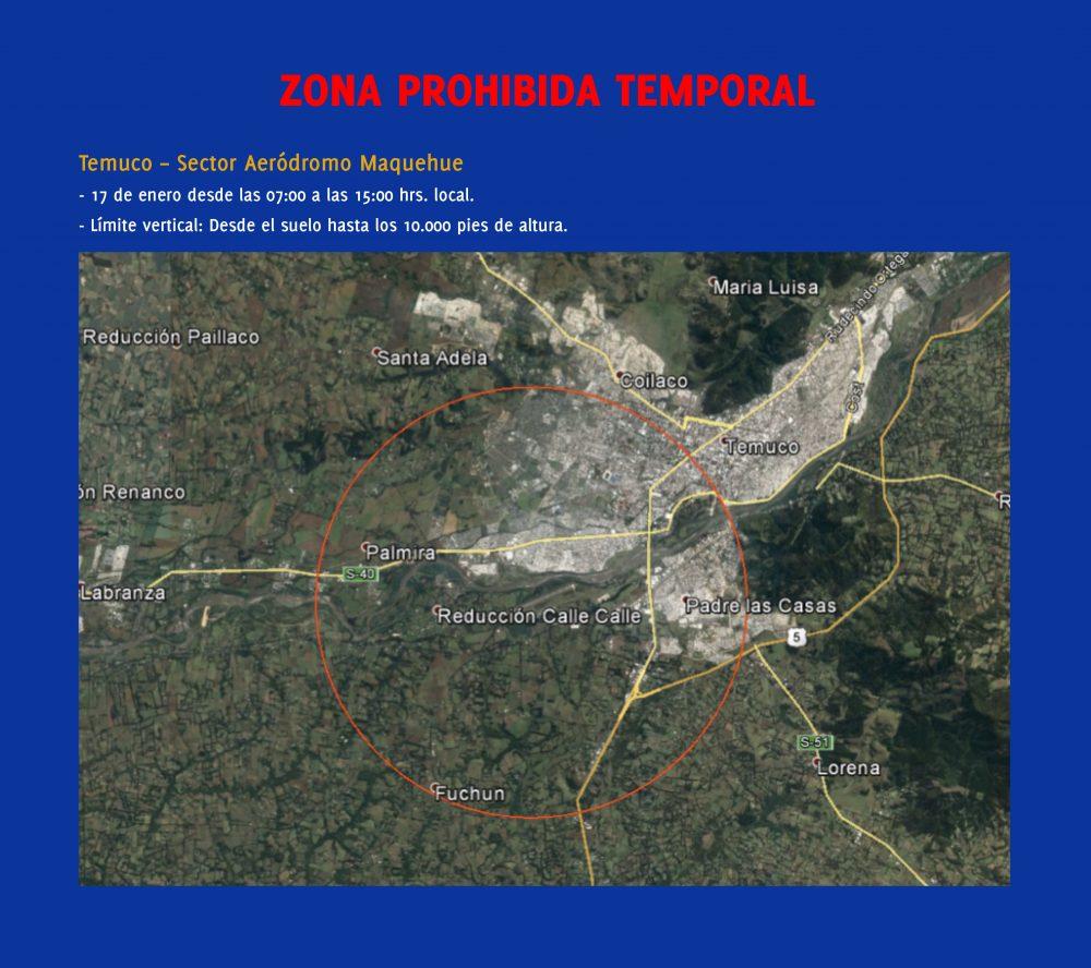 Temuco zona prohibida